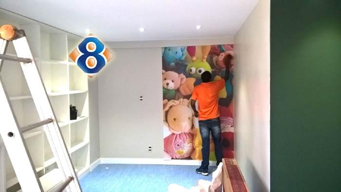 instalacao adesivo para brinquedoteca para condominios residenciais