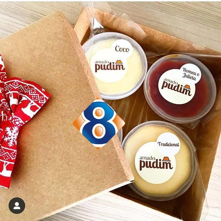 Rótulos para Embalagens sobremesa